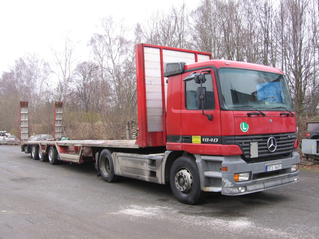 Mercedes tahač