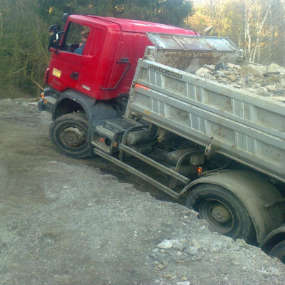 Scania-sklápěč